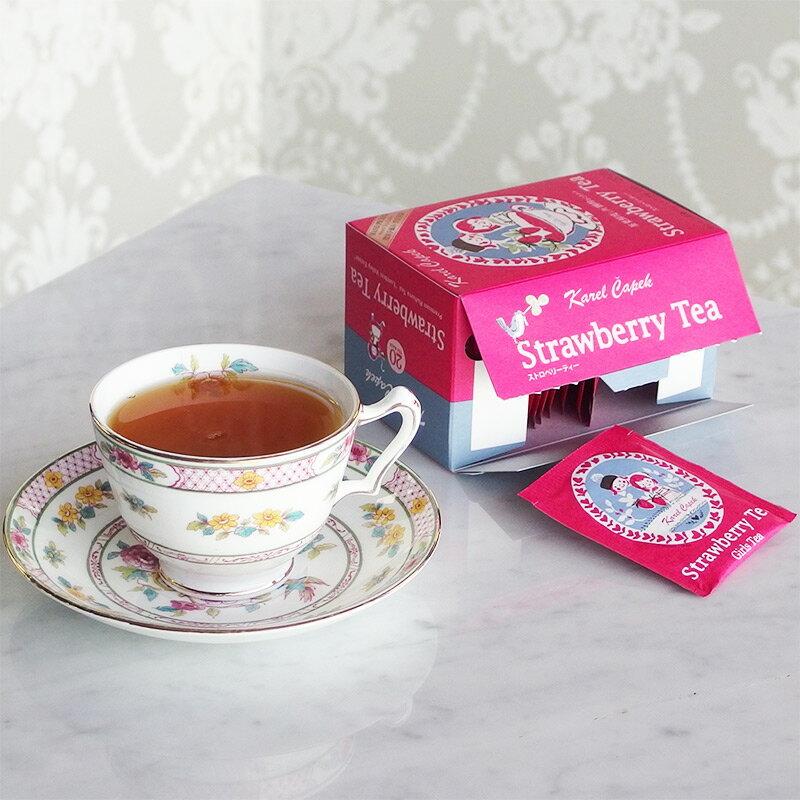 草莓茶20入茶包組-【卡雷爾恰佩克Karel Capek 】山田詩子 / 紅茶 / 季節紅茶 3