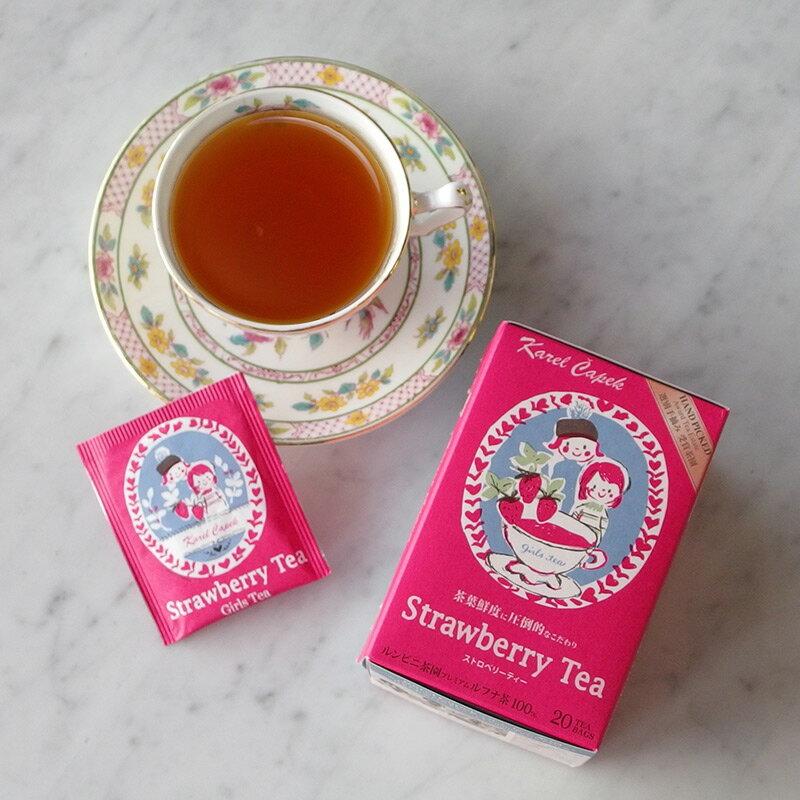 草莓茶20入茶包組-【卡雷爾恰佩克Karel Capek 】山田詩子 / 紅茶 / 季節紅茶 4