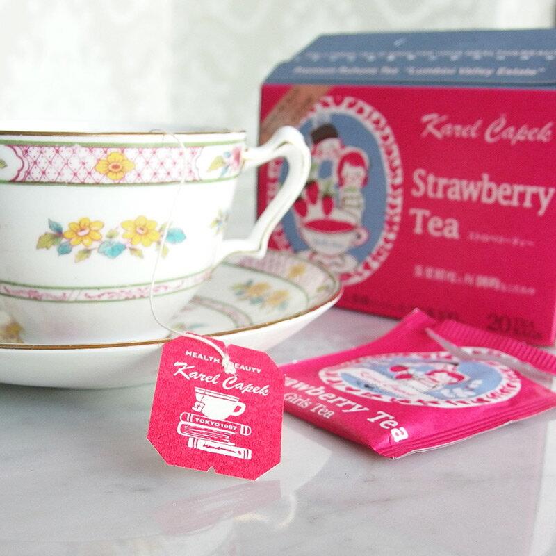 草莓茶20入茶包組-【卡雷爾恰佩克Karel Capek 】山田詩子 / 紅茶 / 季節紅茶 5