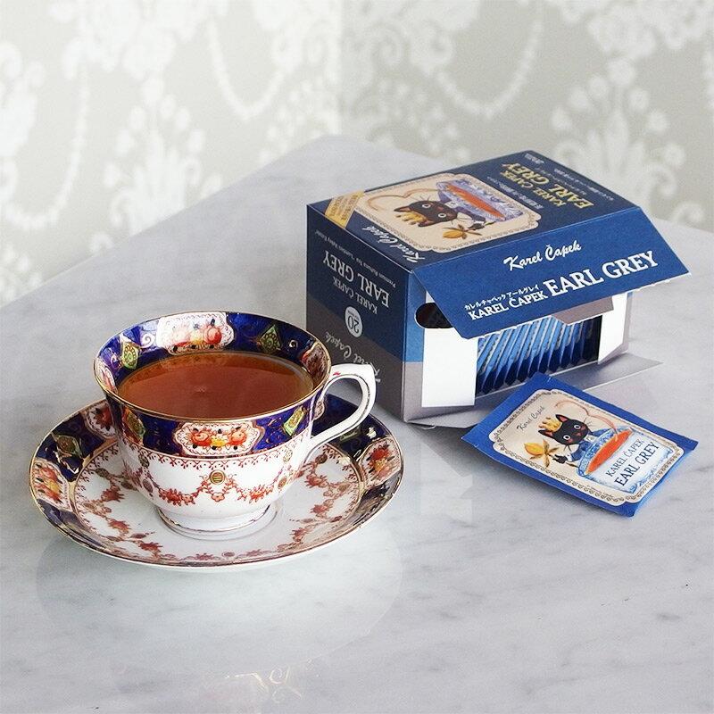 伯爵茶20入茶包組-【卡雷爾恰佩克Karel Capek 】山田詩子 / 紅茶 / 季節紅茶 3