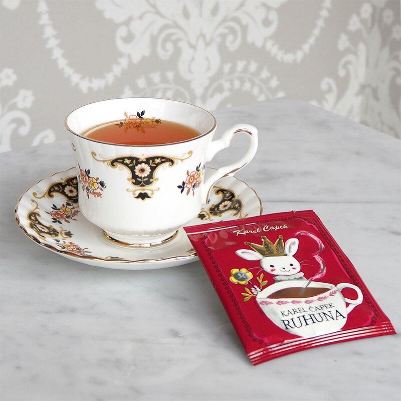 盧哈娜茶 茶包組5入-【卡雷爾恰佩克Karel Capek 】山田詩子 / 紅茶 / 茶包 2
