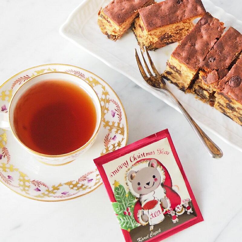 18年耶誕快樂茶包組1.5g*5包-【卡雷爾恰佩克Karel Capek 】山田詩子 / 紅茶 / 禮盒 1