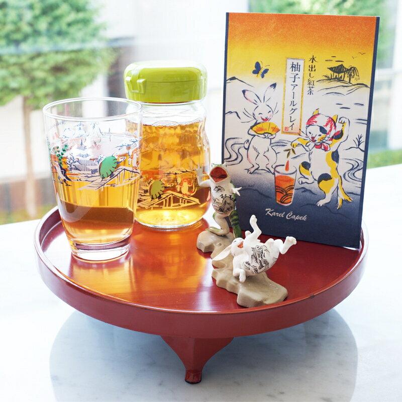 迷你玻璃水壺-古紅茶畫卷【卡雷爾恰佩克Karel Capek 】山田詩子 / 泡茶道具 2