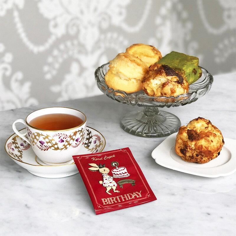 BIRTHDAY-創業30周年紀念茶罐組1.5g*8包-【卡雷爾恰佩克Karel Capek 】山田詩子 / 紅茶 / 禮盒 2