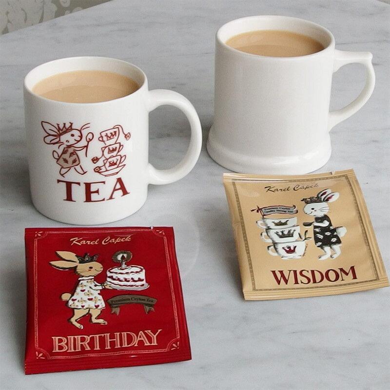WISDOM-創業30周年紀念茶罐1.5g*8包-【卡雷爾恰佩克Karel Capek 】山田詩子 / 紅茶 / 禮盒 2