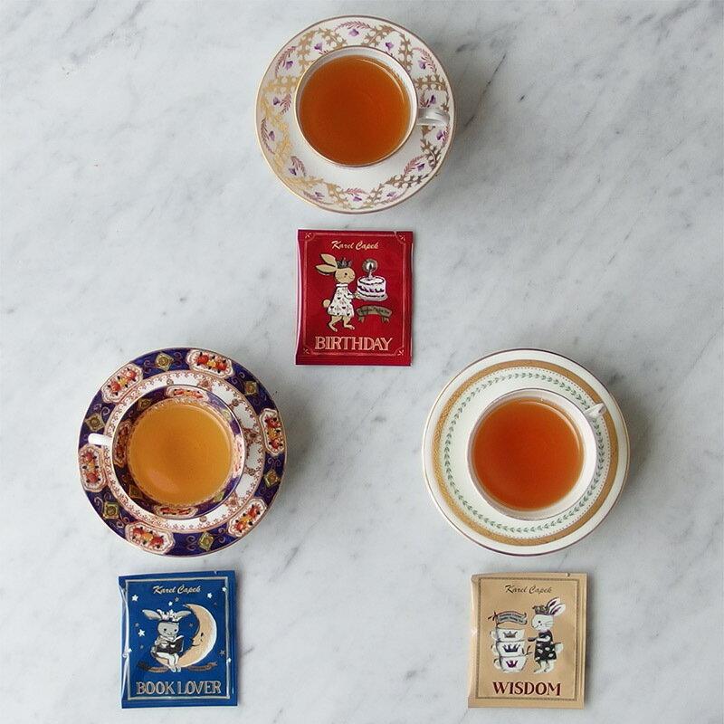 BIRTHDAY-創業30周年紀念茶罐組1.5g*8包-【卡雷爾恰佩克Karel Capek 】山田詩子 / 紅茶 / 禮盒 5