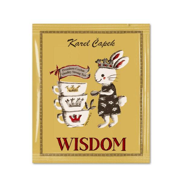 重安小舖:WISDOM-創業30周年紀念茶包組1.5g*5包-【卡雷爾恰佩克KarelCapek】山田詩子紅茶禮盒★1月限定全店699免運