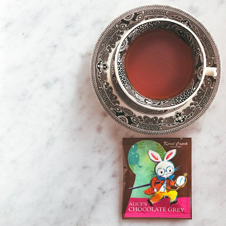 愛麗絲夢遊仙境-特選茶包禮盒組2種口味各3入-【卡雷爾恰佩克Karel Capek 】山田詩子 / 紅茶 / 茶包 4