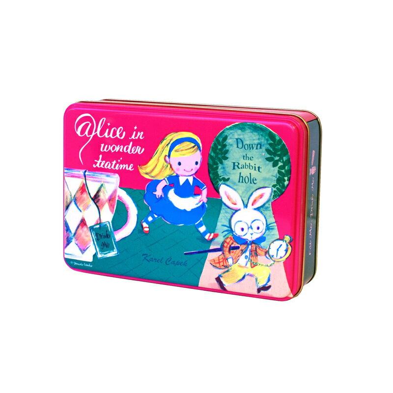 愛麗絲夢遊仙境-特選茶包禮盒組2種口味各3入-【卡雷爾恰佩克Karel Capek 】山田詩子 / 紅茶 / 茶包 0
