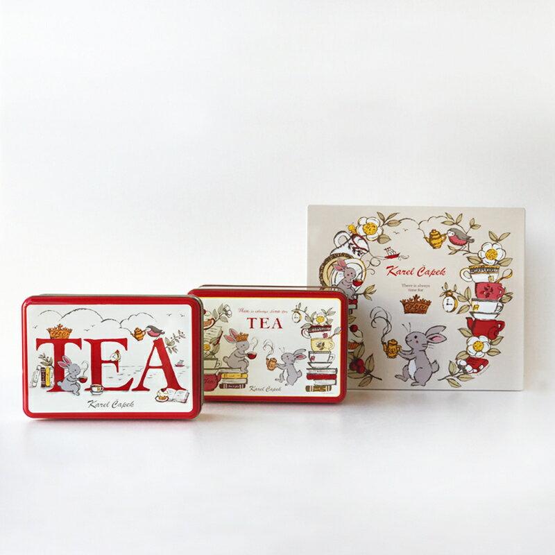 Tea Break禮盒組6種口味*1包【卡雷爾恰佩克Karel Capek 】山田詩子 / 紅茶 / 茶包 5