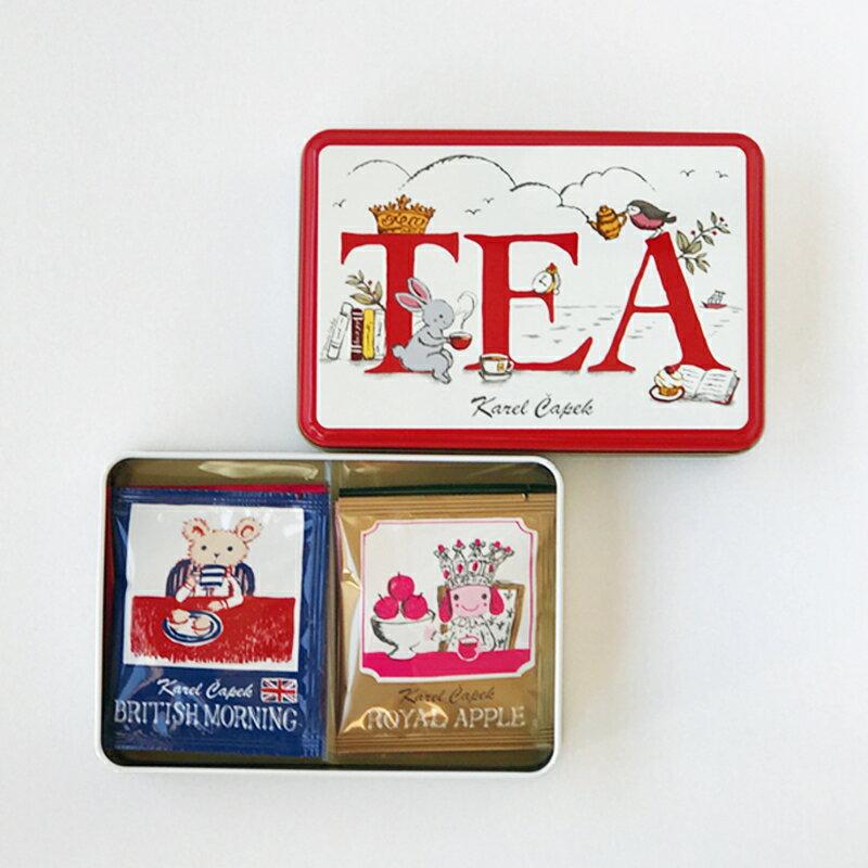 外損品-Tea Break禮盒組6種口味*1包【卡雷爾恰佩克Karel Capek 】山田詩子/紅茶/茶包