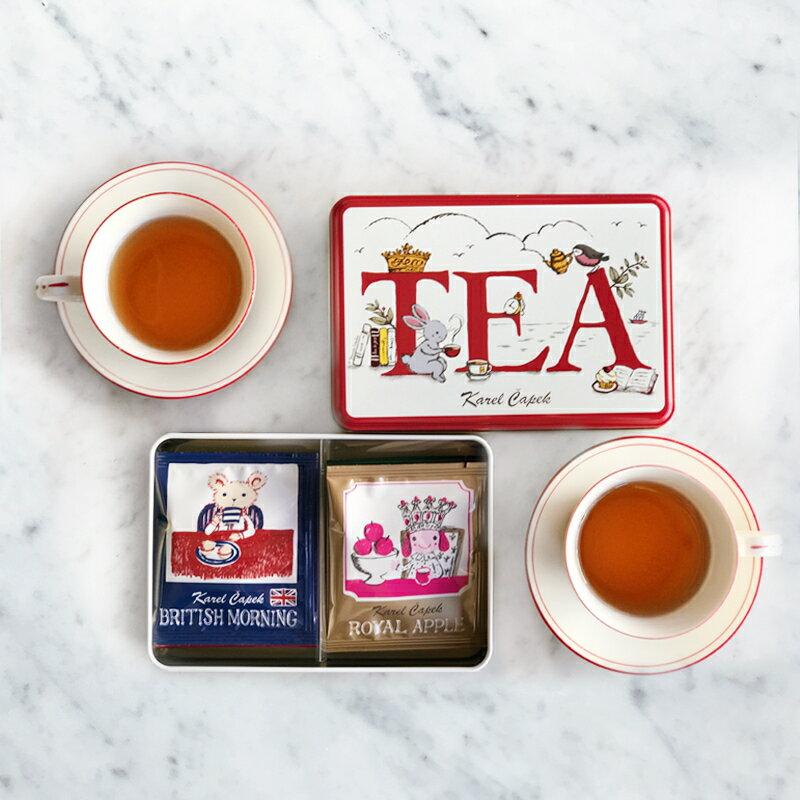 Tea Break禮盒組6種口味*1包【卡雷爾恰佩克Karel Capek 】山田詩子 / 紅茶 / 茶包 4