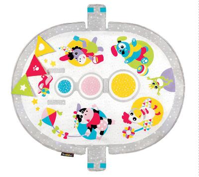 【淘氣寶寶】以色列 Yookidoo 探索系列-動物好朋友三階段健力遊戲墊 2