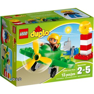樂高積木 LEGO《 LT10808 》2016 年 Duplo 幼兒系列 - 小飛機