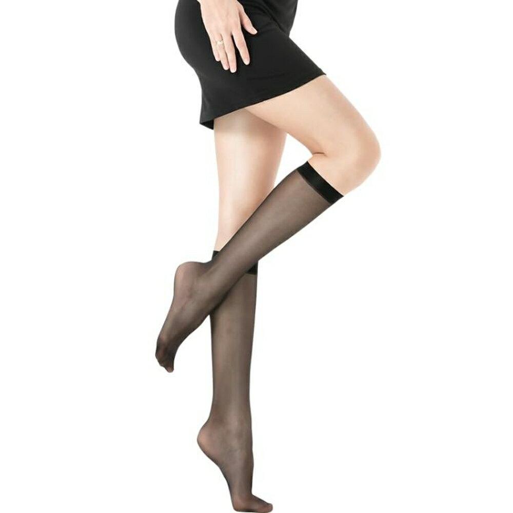 長筒襪 5雙浪莎絲襪 薄款腳尖透明中筒襪女 過膝打底襪防勾絲長筒襪秋季 coco衣巷 母親節禮物