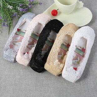 韓國全蕾絲防滑隱形襪 船型襪 止滑隱形襪 襪子