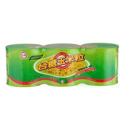 台糖特級玉米粒340G*3【愛買】