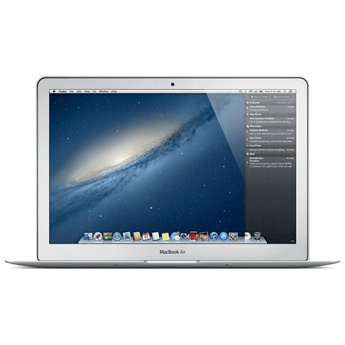 "Apple MacBook Air MJVM2LL/A 11"" LCD Notebook - Intel Core i5 Dual-core (2 Core) 1.60 GHz - 4 GB LPDDR3 - 128 GB SSD - Mac OS X 10.10 Yosemite - 1366 x 768 - Silver - Intel HD Graphics 6000 - Bluetooth - English Keyboard - Front Camera/Webcam - IEEE 802.11 0"