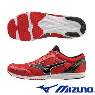 U1GD164009 ( 紅X黑) EKIDEN SPIRIT DR2 初級馬拉松鞋A【美津濃MIZUNO】