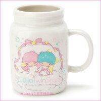 雙子星周邊商品推薦到asdfkitty可愛家☆雙子星罐型陶瓷馬克杯-也可當筆筒或花器-日本正版商品