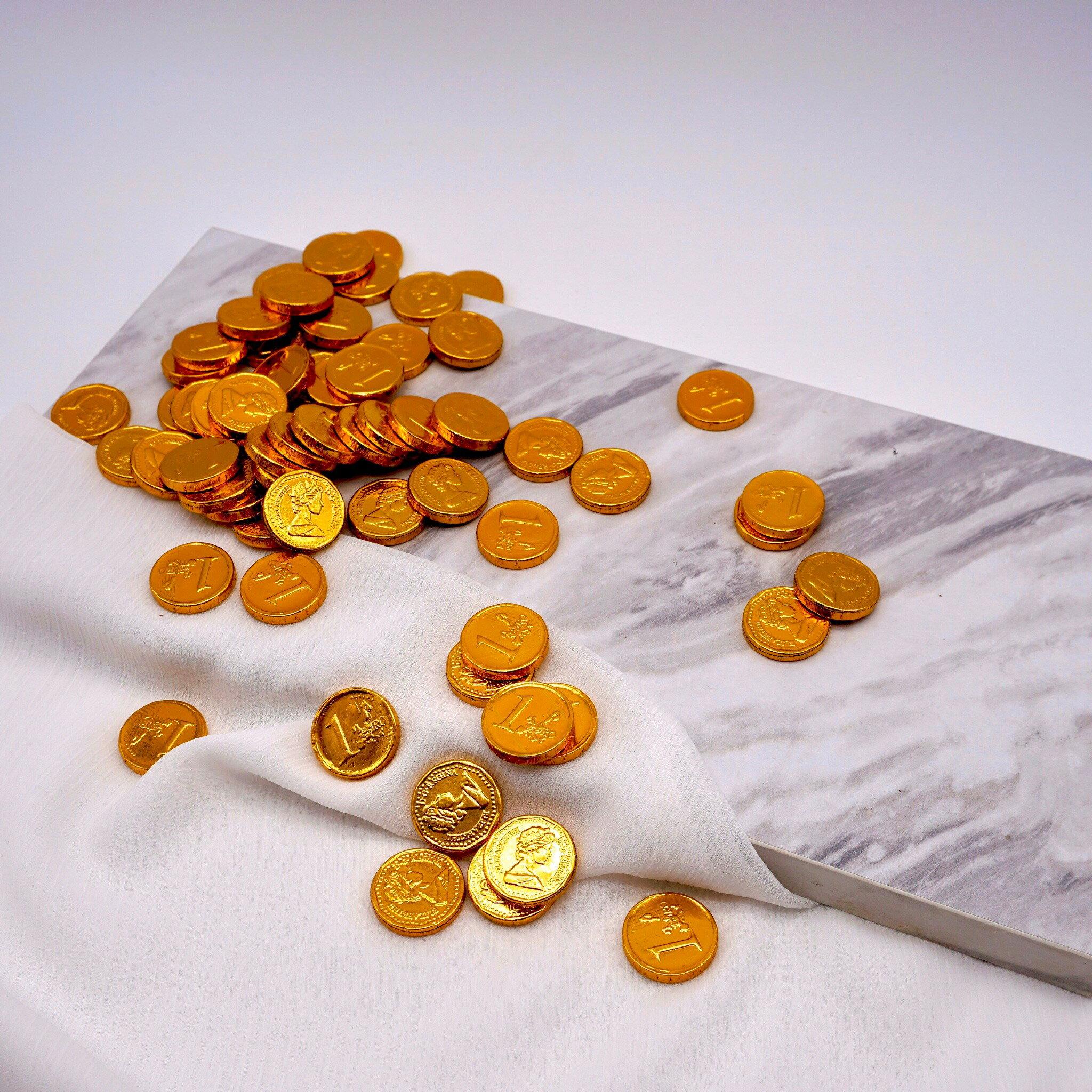 嘴甜甜 迷你金幣巧克力 230公克 巧克力系列 金幣巧克力 金幣 巧克力 素食 現貨