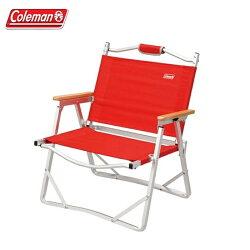 【露營趣】Coleman CM-7670 輕薄摺疊椅/紅 折疊椅 休閒椅 導演椅 野餐椅 折合椅 露營椅