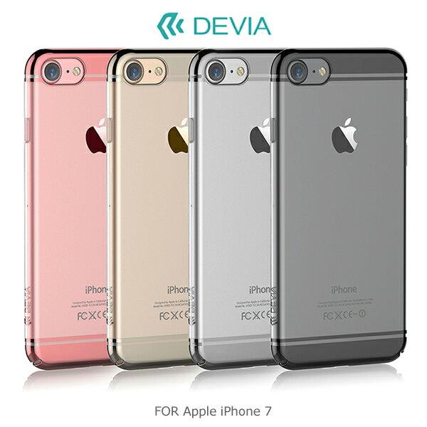 強尼拍賣~DEVIAAppleiPhone7旋金保護殼PC材質電鍍硬殼保護殼全包設計(預購)