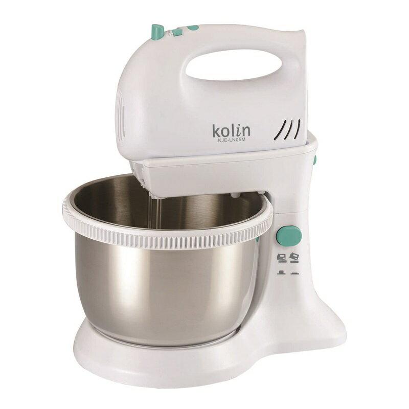 (福利品)【歌林】304不鏽鋼兩用攪拌機/攪拌桶/鋼盆/400次咖啡/1000次歐姆蛋KJE-LN05M 保固免運