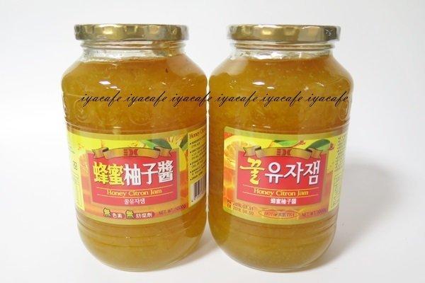 附發票-愛鴨咖啡-三紅蜂蜜柚子茶蜂蜜柚子醬1kg