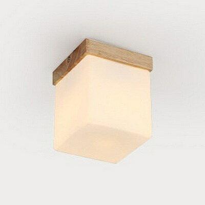 【威森家居】北歐 實木方塊吸頂燈 現貨原木工業風現代簡約復古吸頂燈吊燈壁燈大廳客廳臥室陽台燈具LED設計師 L160525