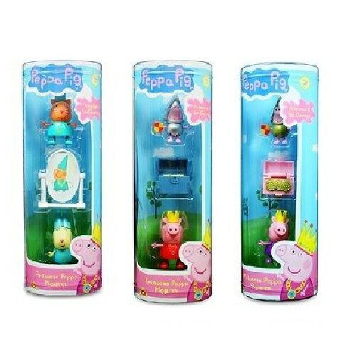 粉紅豬小妹皇家系列~公仔 共3款 Peppa Pig 佩佩豬 蘇西羊 Princess P