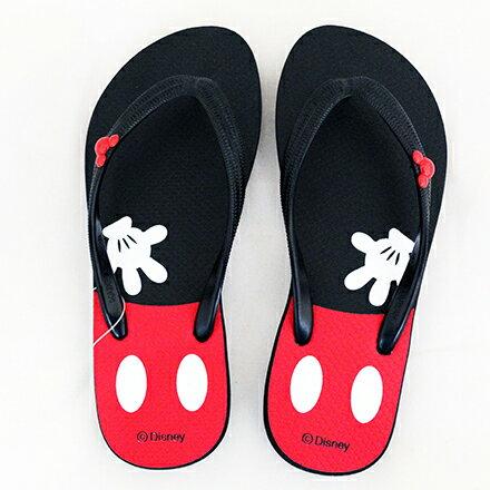 【敵富朗超巿】正版米奇米妮夾腳拖鞋-40 1