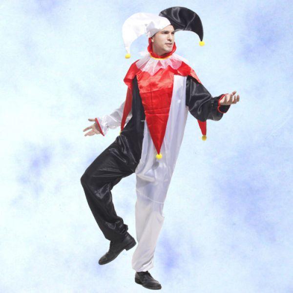 GTH-1354 黑白小丑裝表演造型派對服裝批發團購