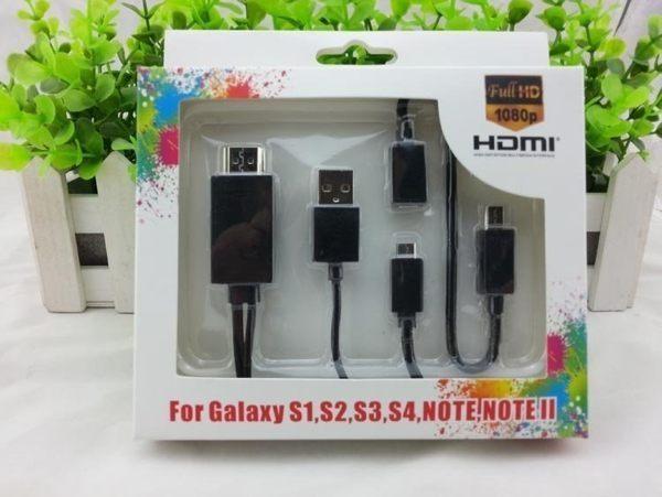 手機接電視投影儀 MHL轉接HDMI高清? Micro USB轉TV SAMSUNG SONY 小米【預購】