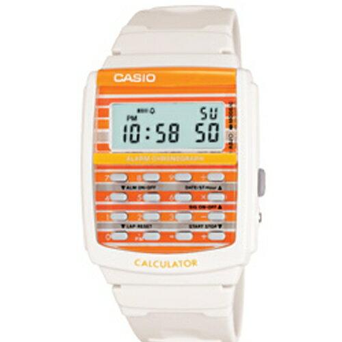 CASIO 彩色積木計算機造型運動腕錶/LDF-40-7A