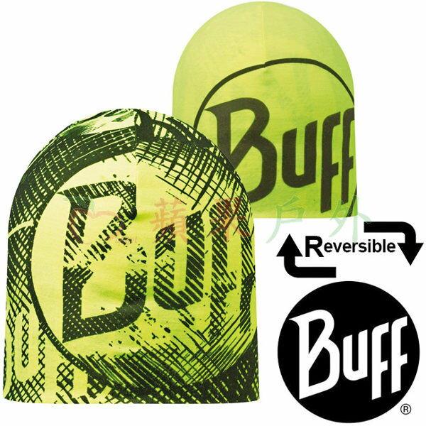 【【蘋果戶外】】BF108918西班牙BUFF雙面彈性反光保暖帽螢光BUFF快乾帽防寒帽