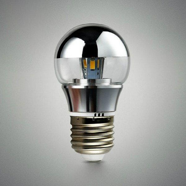 【威森家居】G45 半反射水銀電鍍燈泡 E27 E14 LED 節能簡約吸頂燈吊燈壁燈陽台復古工業風 L170201