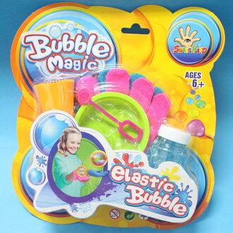 魔術泡泡有彈力泡泡+手套 魔術彈力泡泡 彈性彈力泡泡 NO.1428B/一卡入{促100}~FC121226