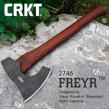 [ CRKT ] Freyr 斧頭 / 山野 野營 軍事戰術 劈柴 / 2746