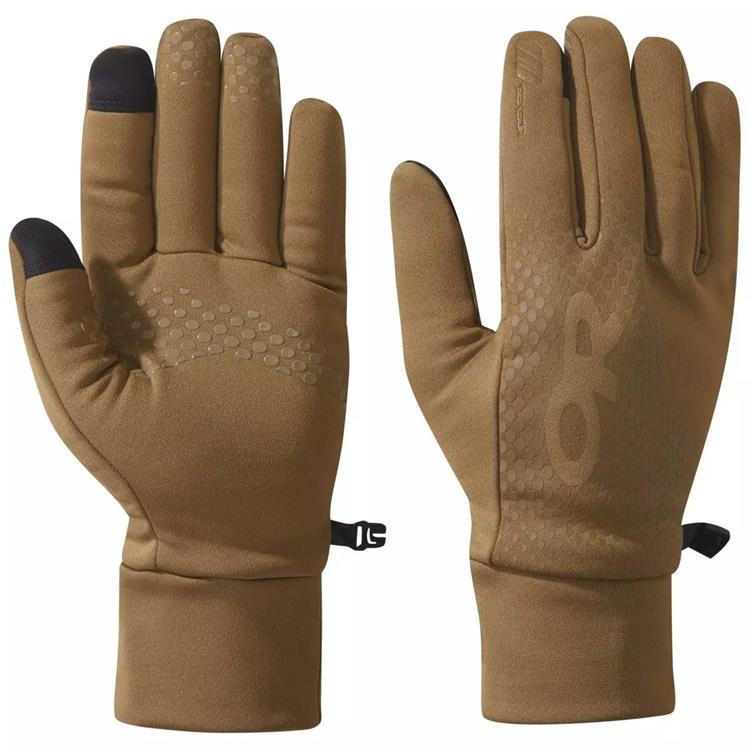 Outdoor Research Vigor HW 男款可觸控刷毛保暖手套 OR271560 0014 棕