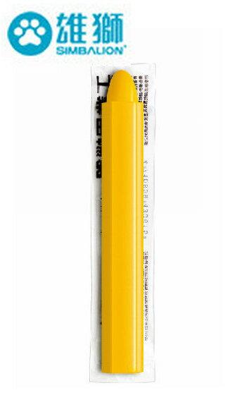 雄獅工業用蠟筆(OPP袋) IC-504W