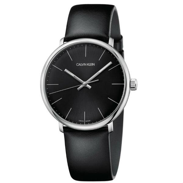 CK時代印記(K8M211C1)都會精簡時尚腕錶黑面40mm