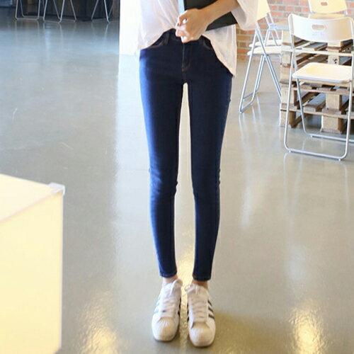 PS Mall 高腰韓版彈力顯瘦個性長褲【T694】 2