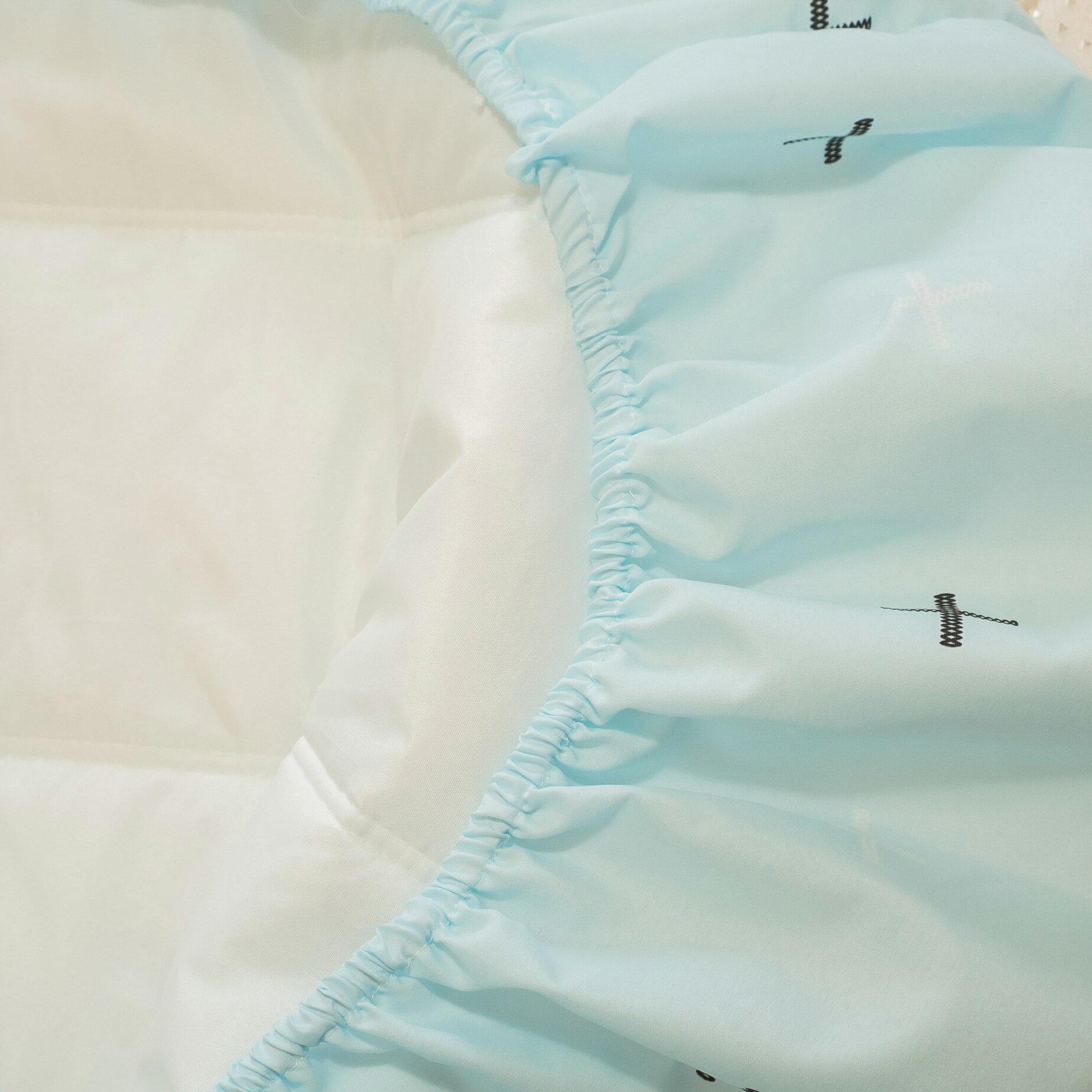 【綠十字】床包式保潔墊(尺寸可選)抗菌防污 台灣製 厚實鋪棉 可水洗 好窩生活節 2