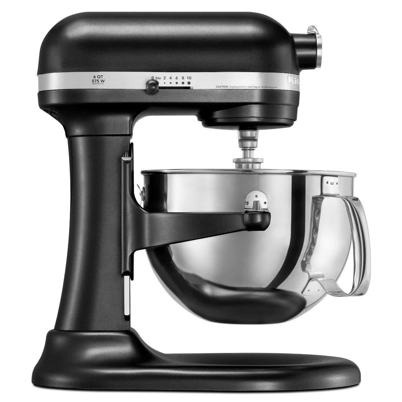 KitchenAid RKP26M1X 10 Speed 6qt Pro 600 Large Capacity Stand Mixer - Onyx  Black