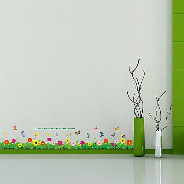 BO雜貨:BO雜貨【YV4083】創意可移動壁貼牆貼背景貼壁貼樹時尚組合壁貼璧貼繽紛花