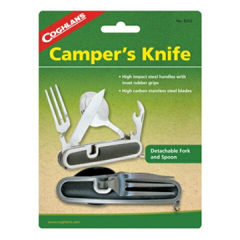【露營趣】中和 加拿大 COGHLANS 8252 餐具組 湯匙 叉子 開罐器 摺疊刀