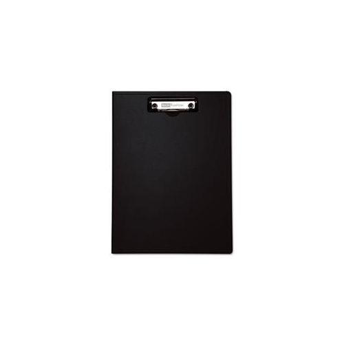 """Portfolio Clipboard with Low-Profile Clip, Black, 11"""" x 8.5"""" 0"""