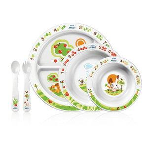 【奇買親子購物網】AVENT QQ兔學習餐具禮盒組(含食譜)