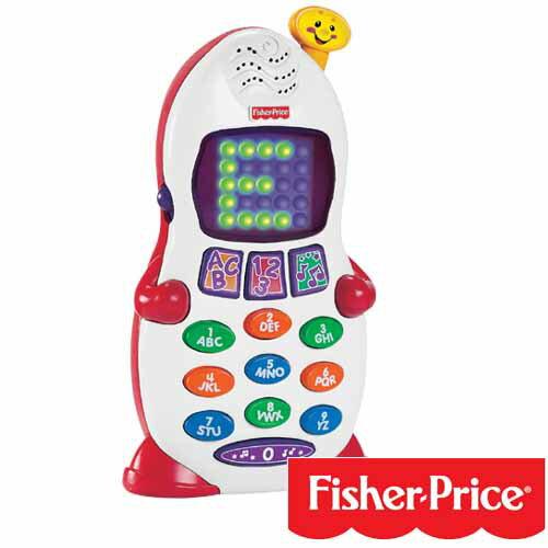 【奇買親子購物網】費雪牌Fisher-Price   學習小電話(手機)